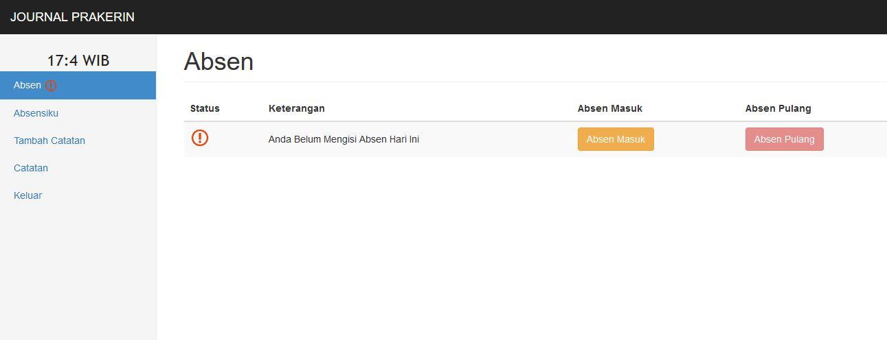 Source Code Gratis Absensi Siswa PHP MySql - Jasa Pembuatan Website