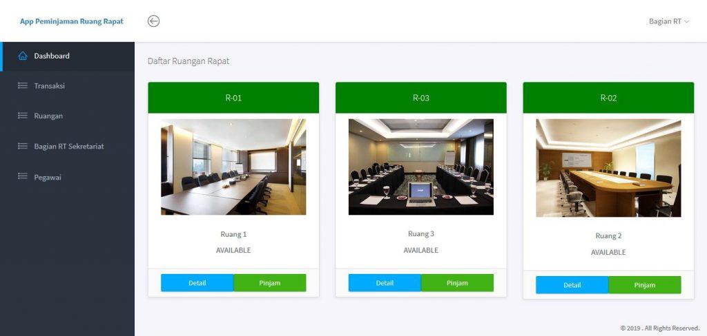 Download Source Code Aplikasi Peminjaman Ruangan