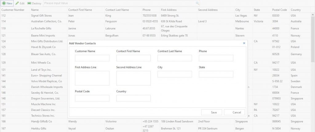 Tambah Data Jeasy UI + Codeigniter