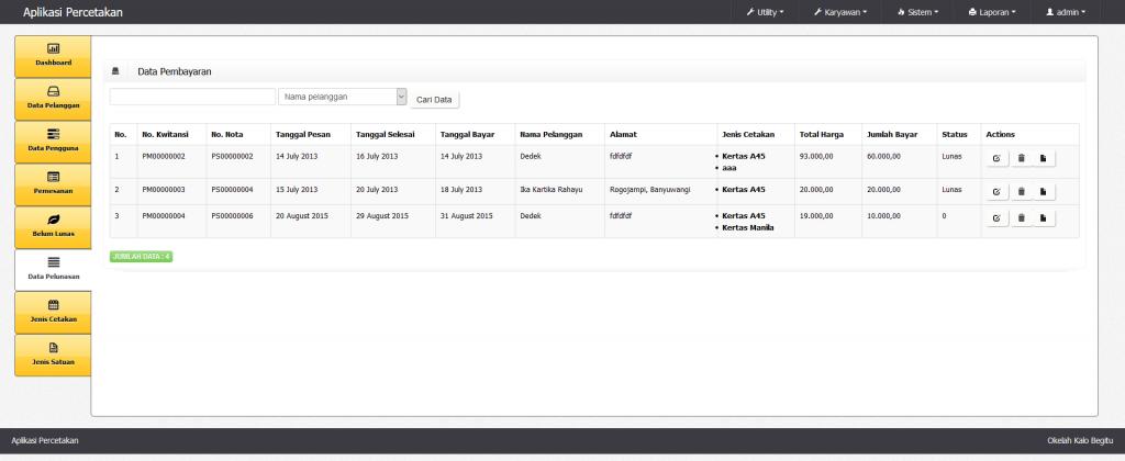 Download Aplikasi Basis Web PHP